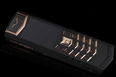 Vertu Signature S Limited Black Gold Cao Cấp