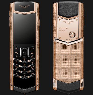 Điện thoại Vertu Claud De Pari S Gold cao cấp F2