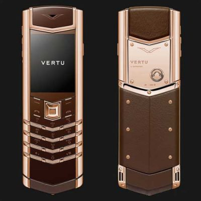Vertu Signature S Limited Chocolate Gold Cao Cấp