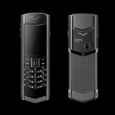 Điện thoại Vertu Claud De Pari S Black F2 Cao Cấp