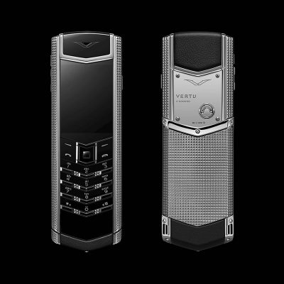 Điện thoại Vertu Claud De Pari S silver cao cấp F2