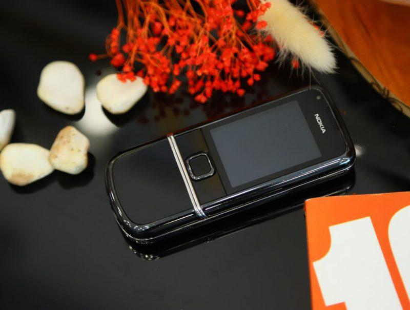 Nokia 8800E Sapphire Arte Black Hình Thức 95% - Vertu Việt Nam
