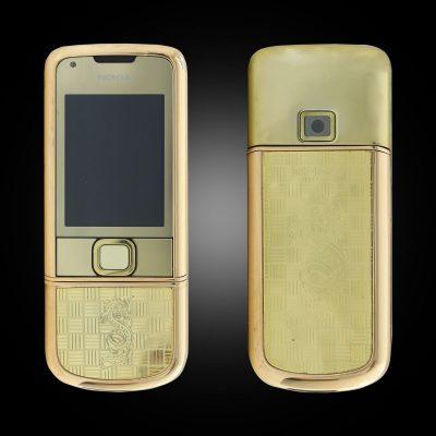 Nokia 8800E Rose Gold khảm rồng