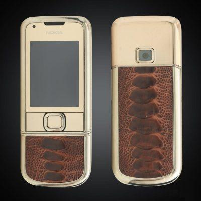 Nokia 8800E Gold Arte Da Cá Sấu Nguyên Bản 4Gb nổi bật