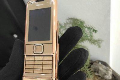 Nokia 8800E Rose Gold khảm trai