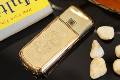 Nokia 8800E Rose Gold long phụng