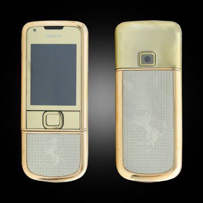 Nokia 8800E Rose Gold khảm ngựa trắng