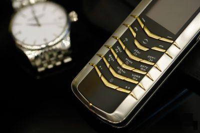 Vertu Signature M Gold Keys