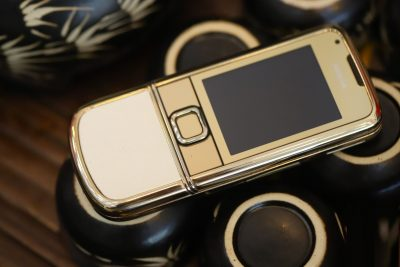 Nokia 8800E Gold Arte Da Trắng Nguyên Bản Fullbox 4Gb hình thức 99%