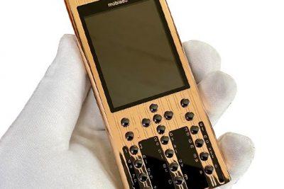 Điện thoại Mobiado 3AF Vàng hồng