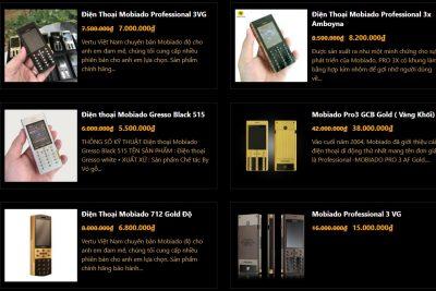 Địa chỉ bán điện thoại Mobiado cũ ở Hà Nội